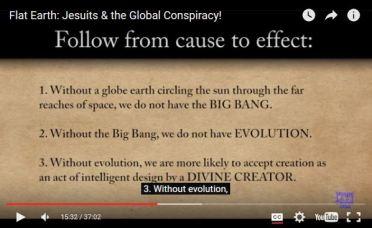 deceptive reasons for flat earth