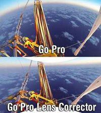 fisheye lense - Go Pro
