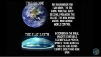 flat earth vs globe earth - supports God and the Bible