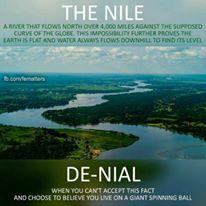 Nile River and denial