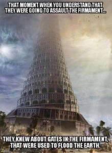 Tower of Babel - plan to assault the Firmament