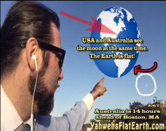 US and Austrailia see the moon at the same time